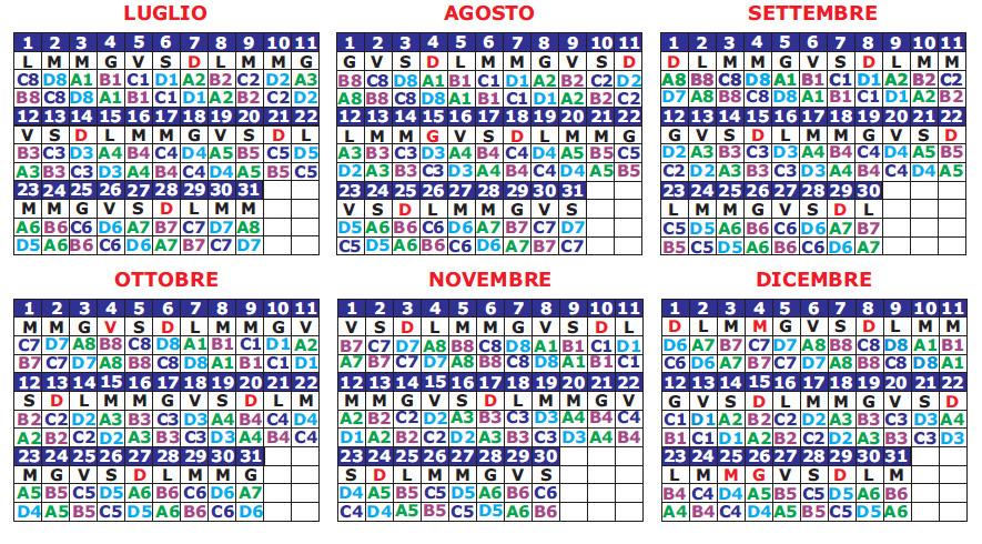 Calendario Vvf.Turnario Vigili Del Fuoco Scarica